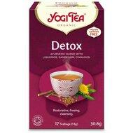 Ceai detoxifiant, bio, 17 pliculete, 30,6g, Yogi Tea
