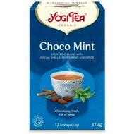 Ceai din boabe de cacao si menta, bio, 17 pliculete, 37,4g, YogiTea