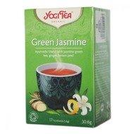 Ceai Bio VERDE cu IASOMIE Yogi Tea, 17dz