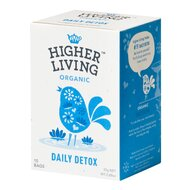 Ceai DAILY DETOX bio, 15 plicuri, Higher Living