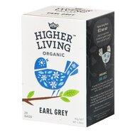 Ceai EARL GREY bio, 20 plicuri, Higher Living