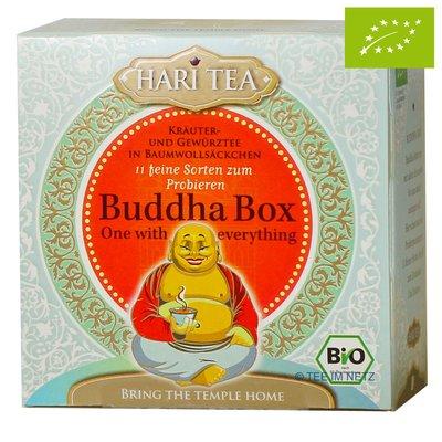 Ceai premium - Budha Box - cutie cu toate cele 11 ceaiuri Hari Tea bio 11dz