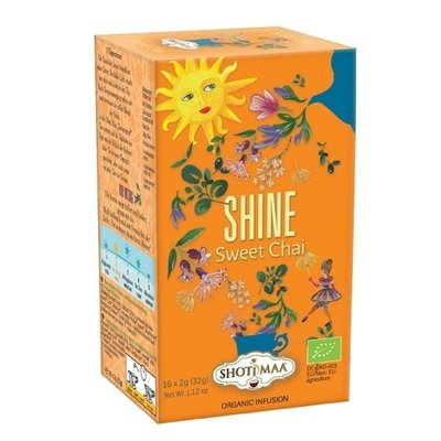 Ceai Shotimaa Sundial - Shine - sweet chai bio 16dz