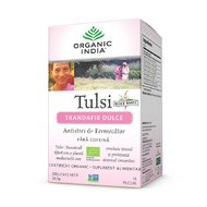 Ceai Tulsi (Busuioc Sfant) Trandafir Dulce | Antistres & Fermecator, plicuri