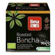 Ceai verde japonez Bancha prajit bio la pliculete 15g Lima PROMO