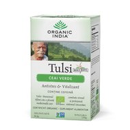 Ceai Verde Tulsi (Busuioc Sfant) | Antistres Natural & Vitalizant, 34.2 gr