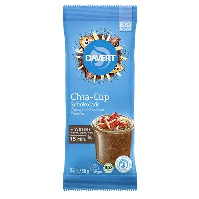 Chia cup ciocolata bio 50g DAVERT PROMO
