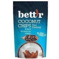 Chips de cocos cu cacao bio 70g Bettr