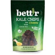 Chips din kale cu aroma de branza raw bio 30g Bettr