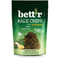 Chips din kale cu mustar raw bio 30g Bettr