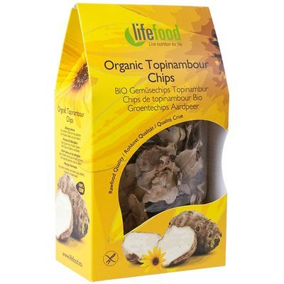 Chips din topinambur raw bio 30g Lifefood