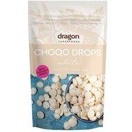 Choco drops White ciocolata alba bio 250g DS