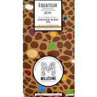 Ciocolata alba belgiana, artizanala, Equateur, eco 70g, Millesime
