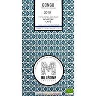 Ciocolata belgiana artizanala cu cafea, Congo, eco 70g, Millesime