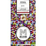 Ciocolata belgiana artizanala Salted Caramel, Perou, eco 70g, Millesime