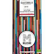 Ciocolata belgiana cu umplutura de cacao, artizanala, Guatemala, eco 70g, Millesime