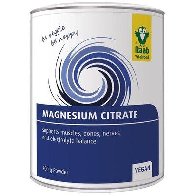 Citrat de magneziu pudra naturala 200g RAAB