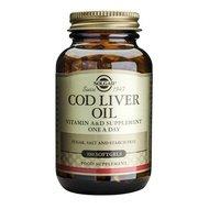 Cod Liver Oil 100cps (Ulei din ficat de cod) SOLGAR