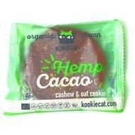 Cookie cu seminte de canepa si cacao fara gluten bio 50g PROMO
