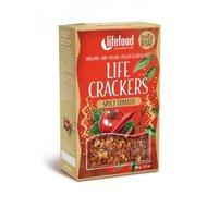 Lifecrackers cu chilli si rosii raw bio 90g Lifefood