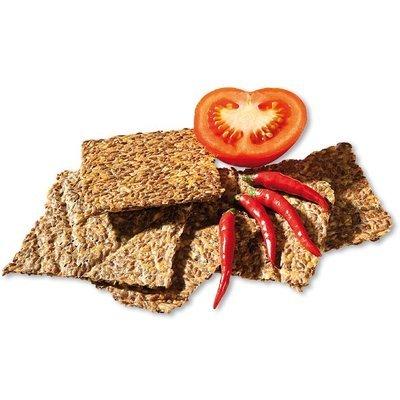 Crackers cu chilli si rosii raw bio 90g Lifefood