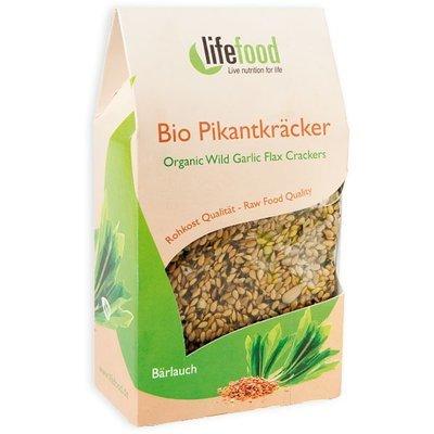 Crackers cu leurda raw bio 90g