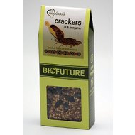 Crackers din in si oregano 100gr