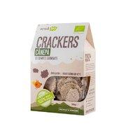 Crackers eco cu canepa si seminte germinate, Petras Bio, 80g