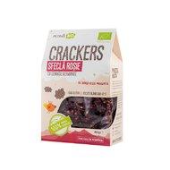 Crackers eco cu sfecla rosie si seminte germinate, Petras Bio, 80g