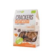 Crackers eco picanti, cu morcovi si seminte germinate, Petras Bio, 80g
