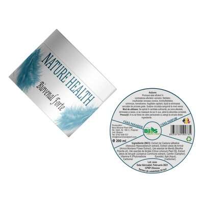 Crema Biovenal Forte, 200 ml, Bios Mineral Plant