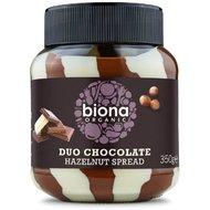Crema de ciocolata cu alune Duo Swirl bio 350g Biona