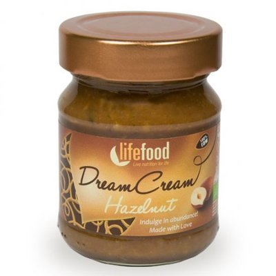Crema raw Dream Cream cu alune bio 150g  Lifefood