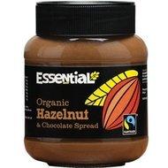 Crema tartinabila cu alune de padure si ciocolata  bio 400g Essential PROMO