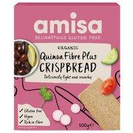 Crispbread (painici) cu quinoa Fibre Plus fara gluten bio 100g AMISA