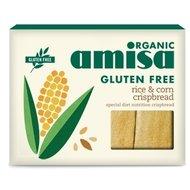 Crispbread (painici) din orez si porumb fara gluten bio 120g