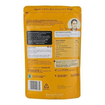 Curcuma (turmeric), pulbere ecologica pura Republica BIO, 100 g