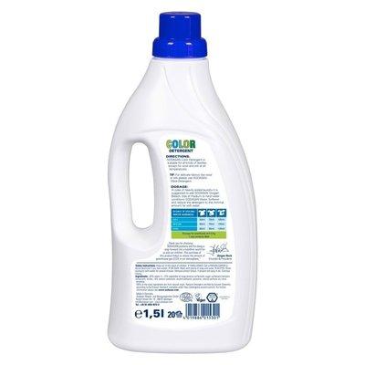 Detergent Bio Lichid Rufe Albe si Color Lime 1,5 L Sodasan