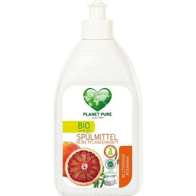 Detergent bio pentru vase - portocale rosii si rozmarin - 510ml Planet Pure