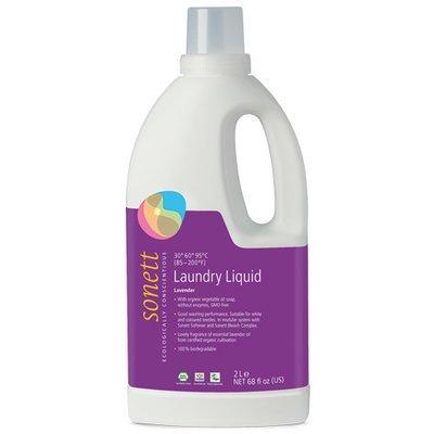 Detergent ecologic lichid pt. rufe albe si colorate cu lavanda 2L, Sonett