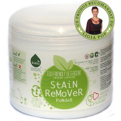 Detergent ecologic pentru indepartat pete pudra 550g Biolu