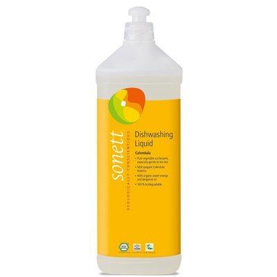 Detergent ecologic pt. spalat vase - galbenele, Sonett 1L