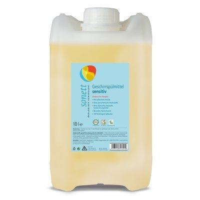 Detergent ecologic pt. spalat vase SENSITIVE, Sonett 10L