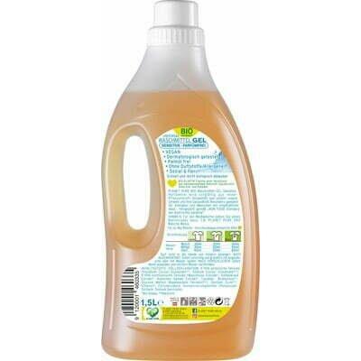 Detergent GEL bio de rufe hipoalergen fara parfum - 1.5L Planet Pure