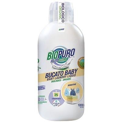 Detergent hipoalergen pentru hainutele copiilor bio 1L Biopuro