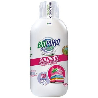 Detergent hipoalergen pentru rufe colorate bio 1L Biopuro