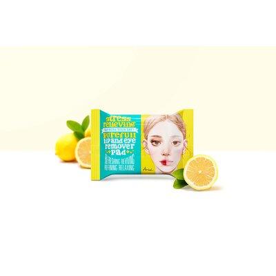 Dischete demachiante pentru buze si ochi, Ariul - Stress Relieving Purefull Lip & Eye Remover Pad,  30 buc