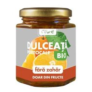 Dulceata de portocale fara zahar, bio, 200g