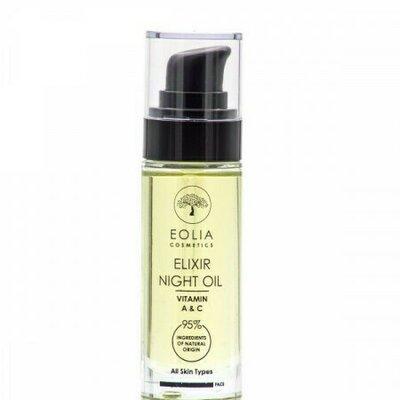 Elixir ulei de noapte organic, 30ml, Eolia