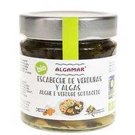 Escabeche de legume si alge marinate, bio, 190g